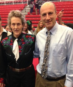 Temple Grandin and Michael Greene